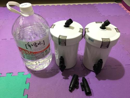 森森前置桶的大小對照多喝水